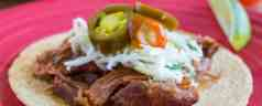 Pressure Cooker BBQ Pulled Pork Tacos