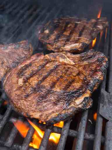 Grilled Ribeye Steaks with Tex-Mex Rub | DadCooksDinner.com