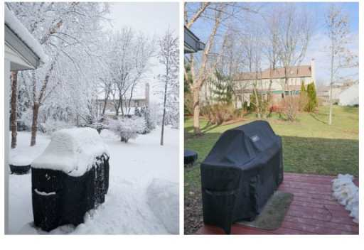 What a difference a week makes!
