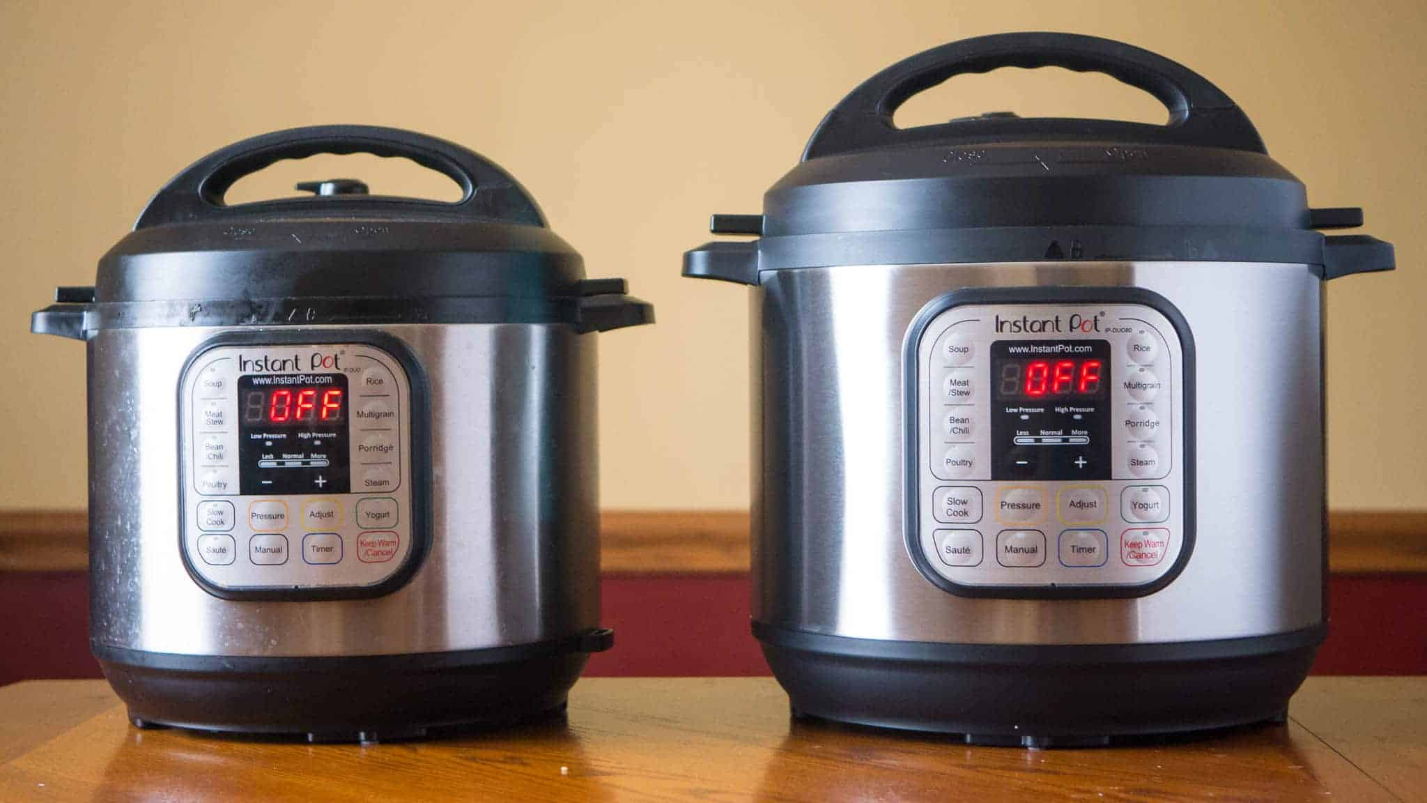 Fagor duo 8 quart pressure cooker - Electric Pressure Cookers Instant Pot Ip Duo60 And Ip Duo80 Dadcooksdinner