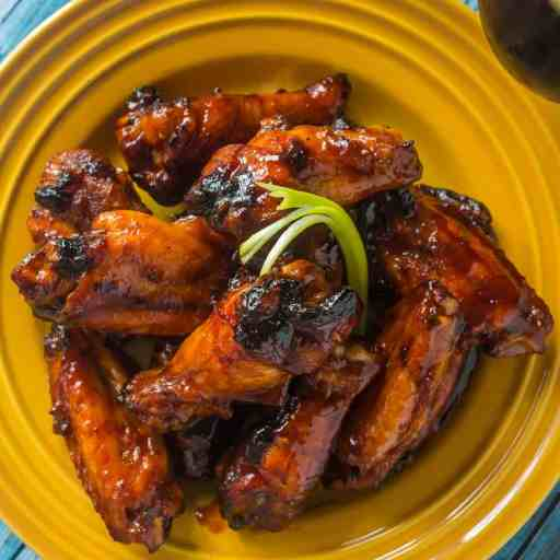 Grilled Korean Chicken Wings | DadCooksDinner.com
