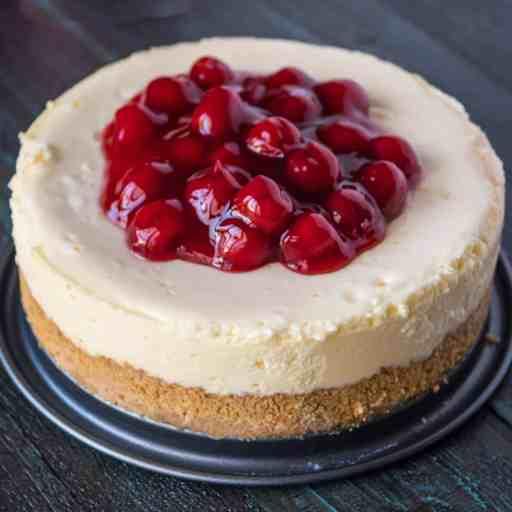 Pressure Cooker New York Cheesecake | DadCooksDinner.com