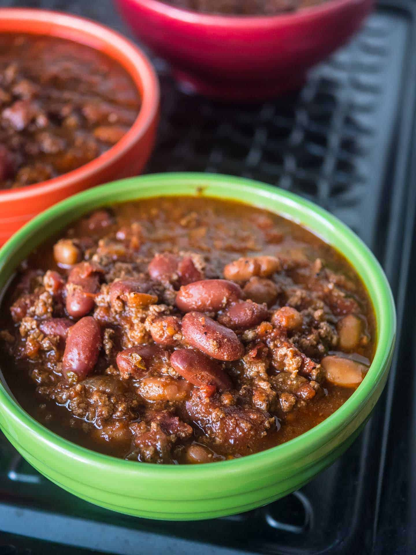 Big Batch Of Quick Chili In The 8 Quart Pressure Cooker Dadcooksdinner