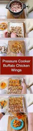 Pressure Cooker Buffalo Chicken Wings | DadCooksDinner.com