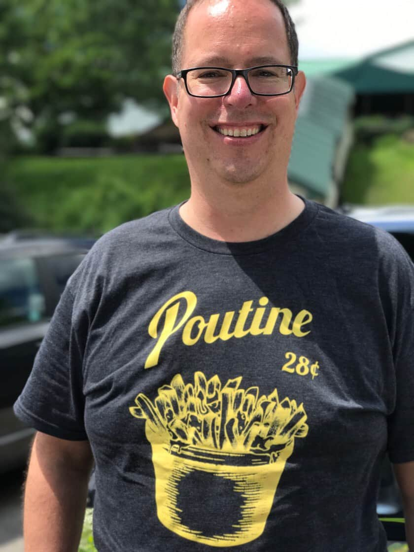 Poutine T-Shirt | DadCooksDinner.com