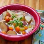 Pressure Cooker Chicken Potato Soup | DadCooksDinner.com