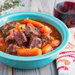 Pressure Cooker Beef Stew Provencal