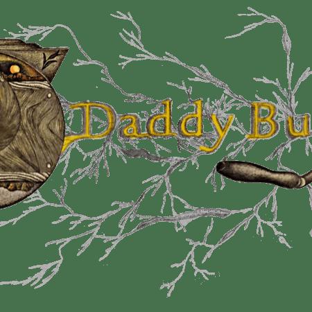 Womens Daddybutter Artistic Logo T-Shirt