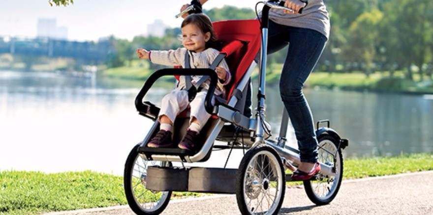Stroller That Turns Into a Bike