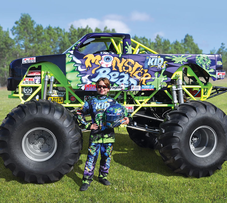 Mini Monster Truck For Children