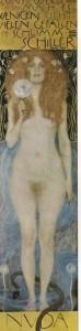 G. Klimt, Nuda veritas (II°, olio, 1899, part.)
