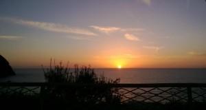 Tramonto a Forio d'Ischia