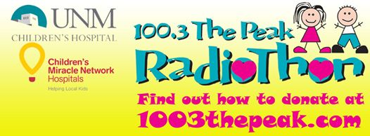 UNM Children's Hospital - 100.3 The Peak Radiothon