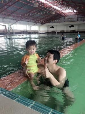 สอนเด็กว่ายน้ำ #2