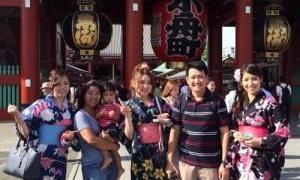 พ่อแม่ลูกไปญี่ปุ่นกันเอง