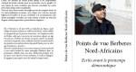 Bientôt dans les kiosques : Points de vue Berbères Nord-Africains