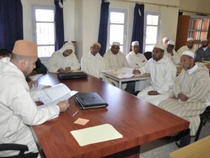تنغير:لقاء تكويني لمؤطري» خطة ميثاق العلماء» بالإقليم