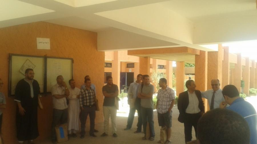 بومالن دادس: وقفة احتجاجية بمركز تصحيح امتحانات الباكالوريا
