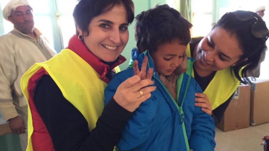 Espoir d'un hiver plus doux pour les écoliers nomades