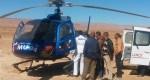 ورزازات.. مروحية تنقل مصابا في حادث سير للمركز الاستشفائي الجامعي بمراكش