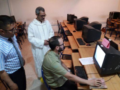 أكاديمية درعة تافيلالت تعتمد تقنية التصحيح الإلكتروني لأوراق تحرير امتحانات البكالوريا