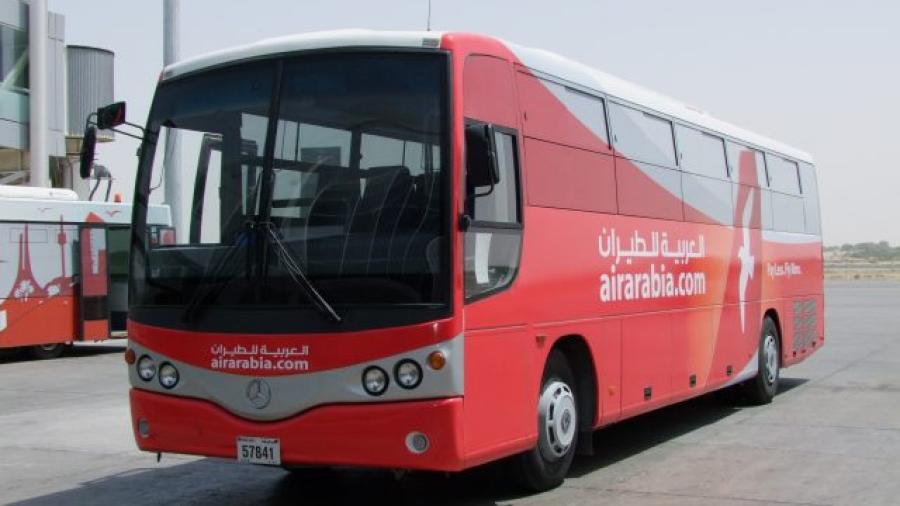 شركة العربية للطيران تمدد خدمة نقل المسافرين بالحافلة من مطار فاس إلى غاية تنغير