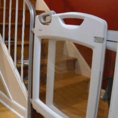 image of a baby gate