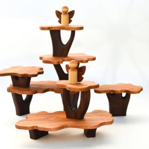 Image of a set of fairy tree house blocks from Adventure in a Box