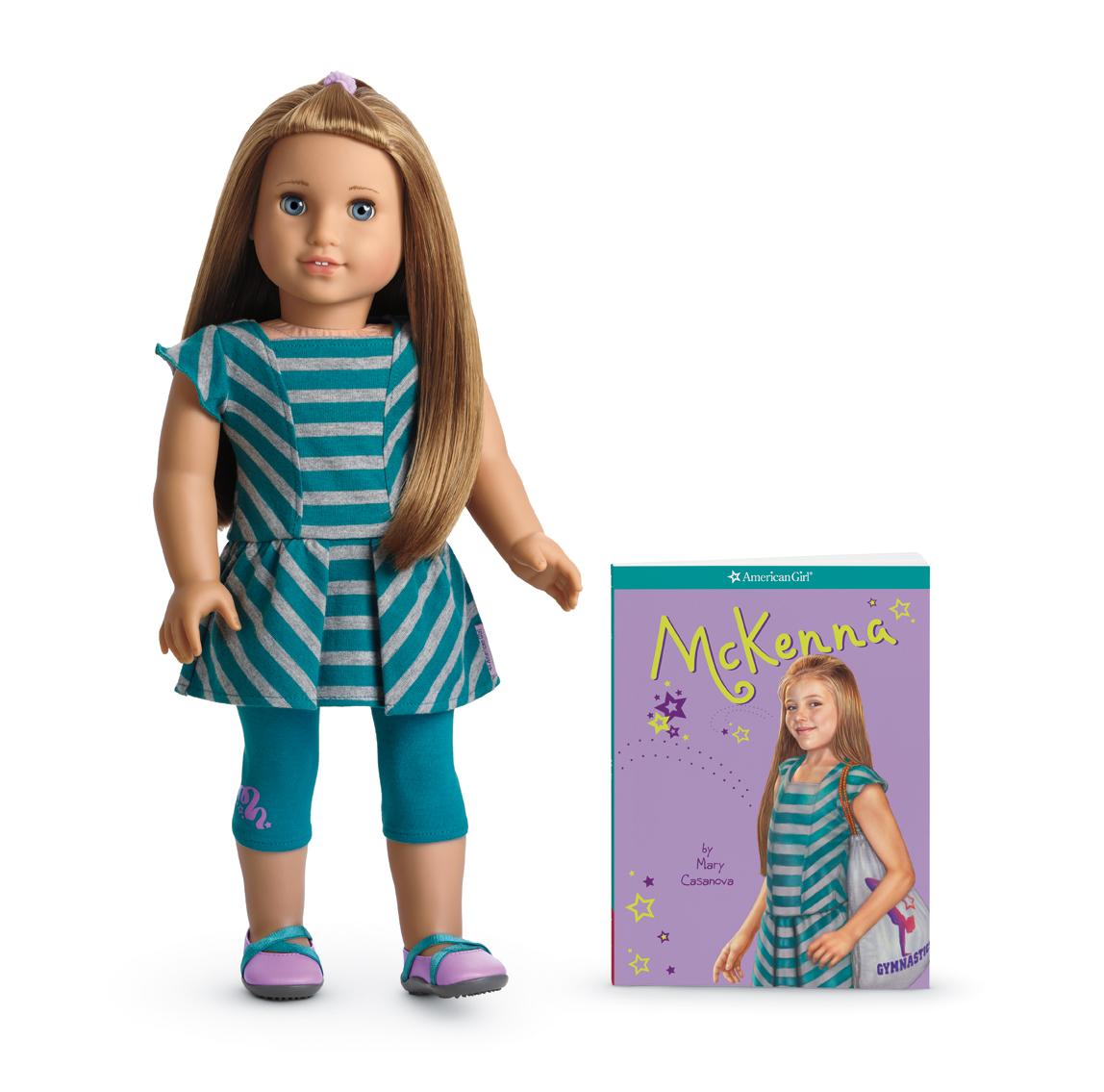 American Girl Doll Mckenna Offers Beautiful