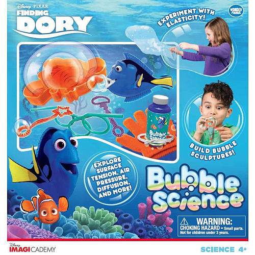Disney Pixar Finding Dory Imagicademy Bubble Science Kit