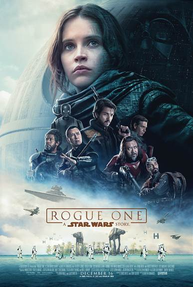 ROGUE ONE: A STAR WARS STORY arrives in theaters everywhere on December 16th In RealD 3D and IMAX 3D!