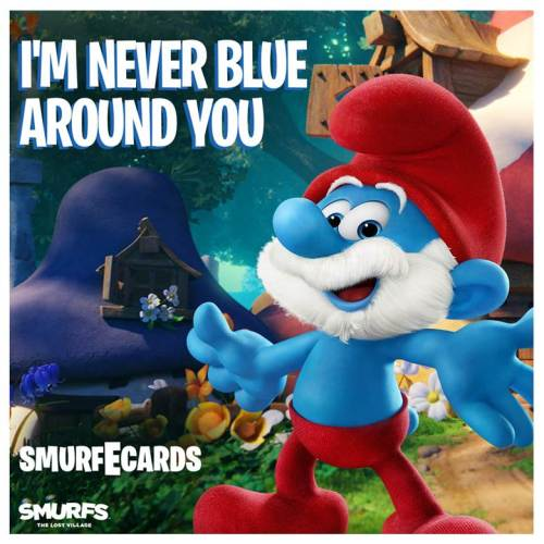 SMURFS: THE LOST VILLAGE is in theaters April 7!