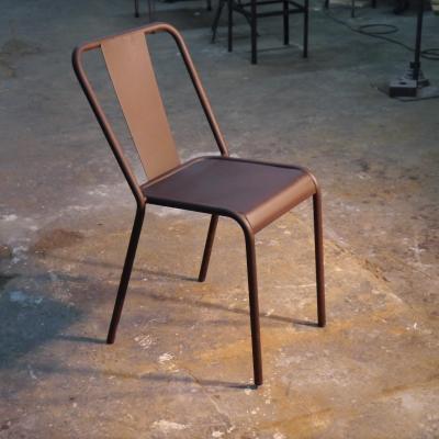 Silla Rochelle 2 asiento plancha pintado óxido