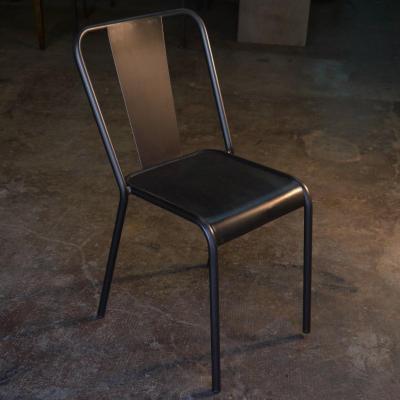 Silla Rochelle2 asiento plancha de hierro hierro barnizado