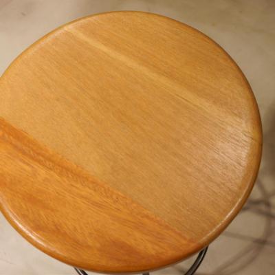 Asiento taburete madera exterior bolondo