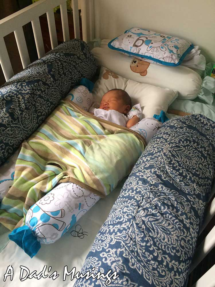 Gab's Sleeps in His Crib for the First Time