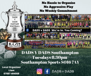 Play Football Southampton Tues 8.30pm