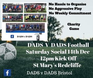 DADSvDADS Football Bristol