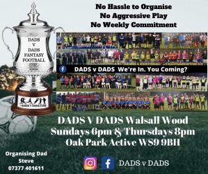 Play Football Walsall Wood Sundays and Thursdays (1)