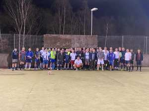 Football Groups Play Football DADs v DADs Fantasy