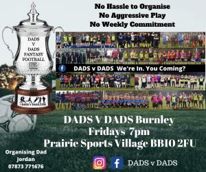 Play Football Burnley 7pm Fridays