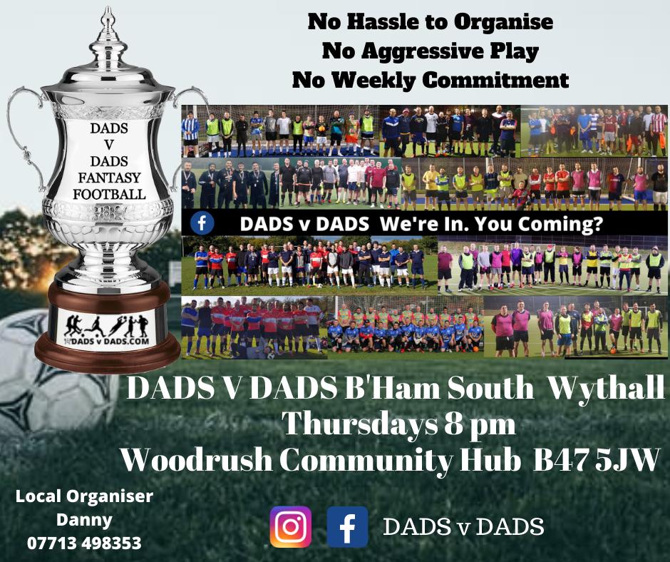 Play Football Birmingham Thursday 9pm