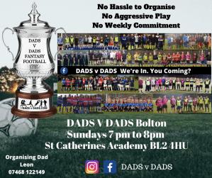 Play Football Bolton Sundays 7pm