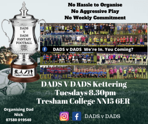 Play Football Kettering Fridays 8.30pm