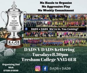 Play Football Kettering Fridays 8.30pm