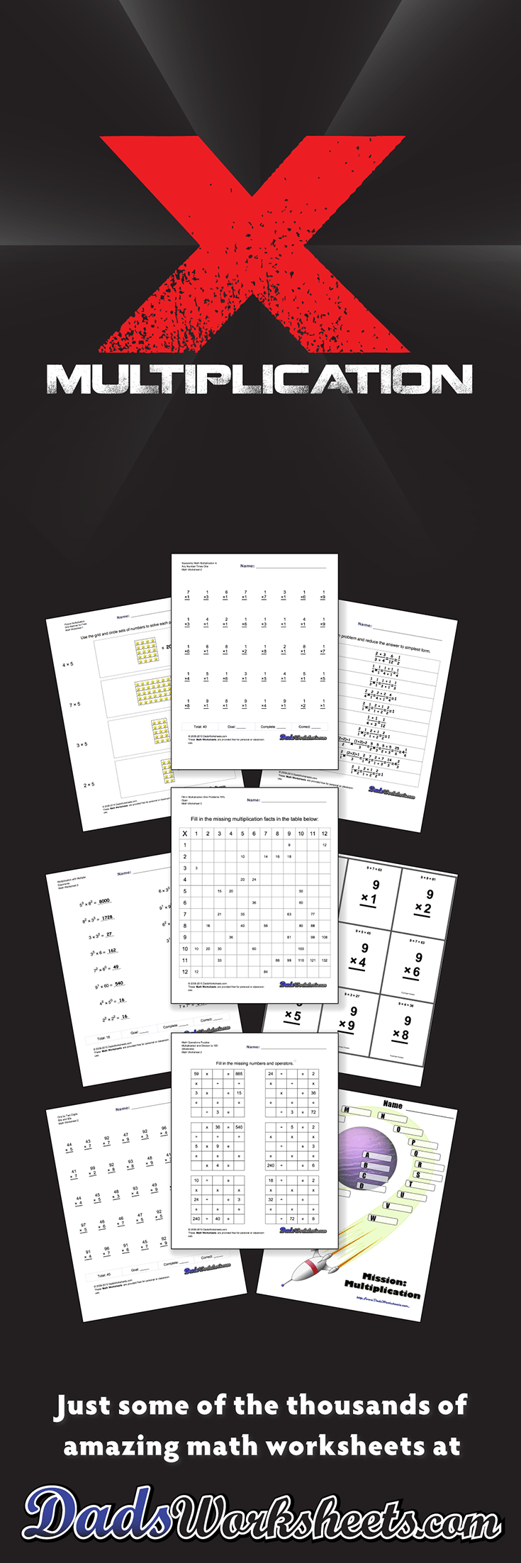 804 Multiplication Worksheets for You to Print Right Now Multiplication Worksheets