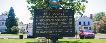 Erie County Ohio Sign