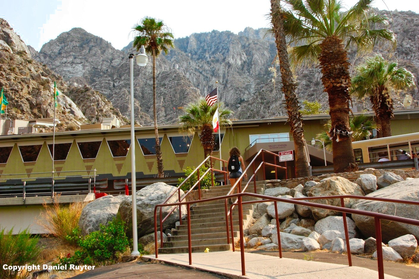 Palm Springs Aerial Tram Review - Lower Station