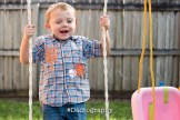 Son on a swing set - Dadtography
