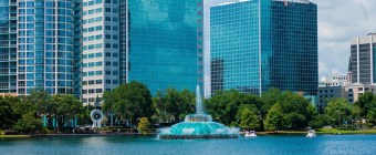 Downtown Orlando Lake Eola Dadtography